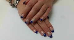 OPI Gel Color met sticker cirkel