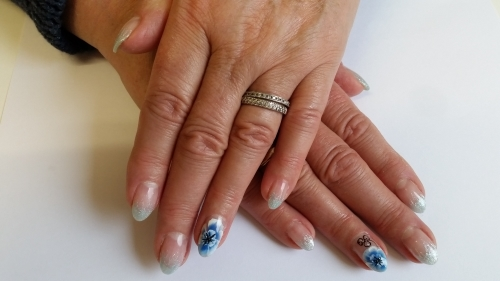 One Stroke Nail Art Techniek Nagelstudio Gorinchem Kats Nails