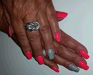 Nailart Gorinchem Pink