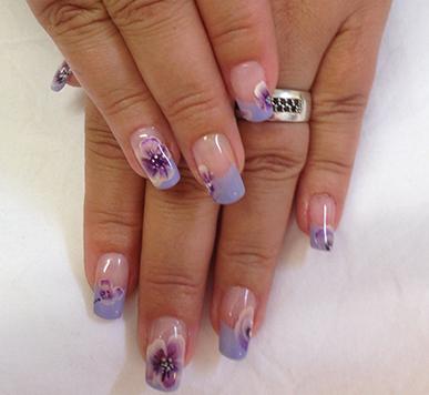 One Stroke Nail Art Techniek Nagelstudio Gorinchem Kats Nails