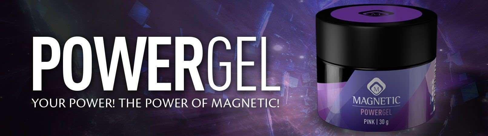 Powergel van Magnetic nu bij Kat's Nails Gorinchem - Nagelstudio Gorinchem Kat's Nails